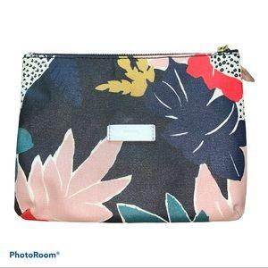 Fossil Floral Coated Canvas Makeup Travel Bag